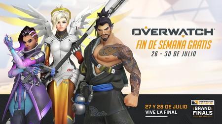 Overwatch se juega gratis en PC del 26 al 30 de julio