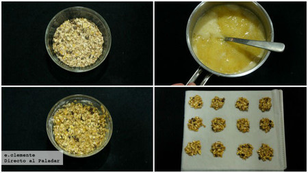 cookies muesli y miel