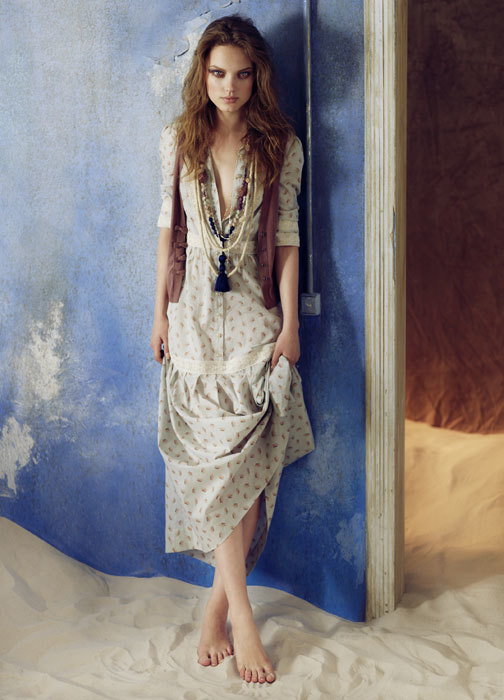 Hoss Intropia Primavera-Verano 2012: romanticismo en estado puro