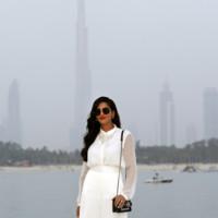 Princesa Amirah Al Taweel Chanel crucero look