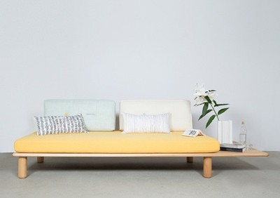 Sushi, un sofá-cama modular de inspiración japonesa