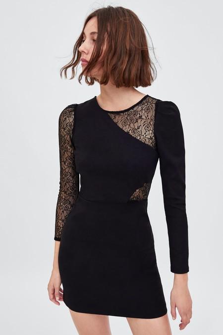Vestido Zara Fiesta Lbd 02