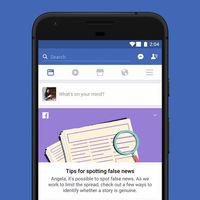 Facebook comienza a probar una herramienta para que aprendas a identificar las noticias falsas