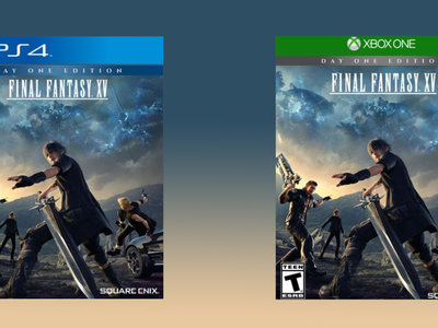 Final Fantasy XV Day One Edition, para PS4 o Xbox One, por 36,99 euros