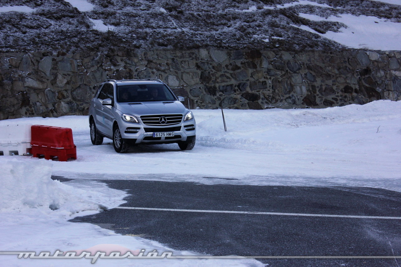 Foto de Michelin Pilot Alpin y Michelin Latitude Alpin, Experiencia 4Matic (12/27)
