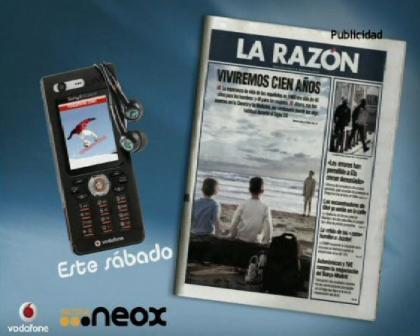 La Razón y Vodafone ofrecen un Sony Ericsson W880i gratis