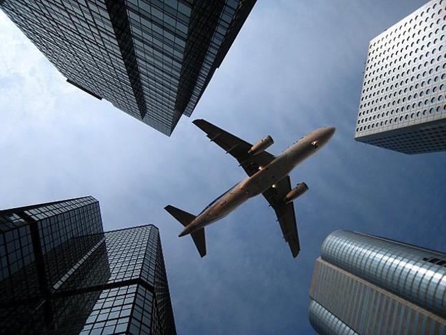 vuelo sobre Hong Kong