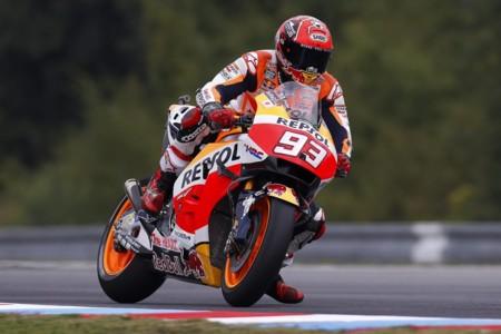 Marc Marquez Honda Repsol Motogp Brno 2016