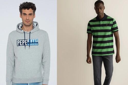 Hasta 50% en moda para hombre en El Corte Inglés con marcas como Calvin Klein, Emporio Armani, Paul & Shark, Mirto o Pepe Jeans