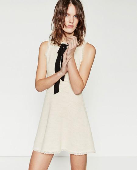 Vestido Chanel Zara