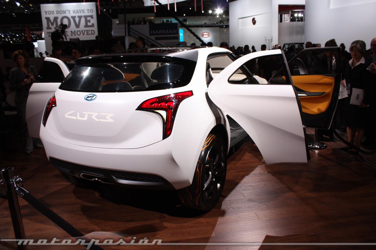 Foto de Hyundai CURB en el Salón de Detroit (15/29)