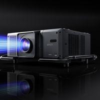 Este proyector de Epson es escalable: se pueden montar dos juntos para llegar a 60.000 lúmenes y una resolución 4K