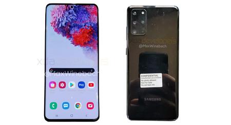 Filtran las primeras fotos reales del Samsung Galaxy S20+ 5G