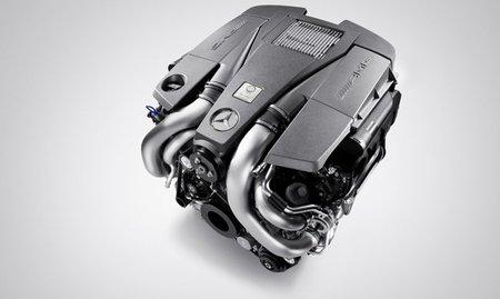 Nuevo motor AMG V8 5.5 Biturbo