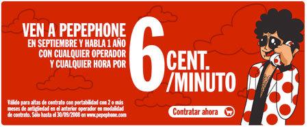 PepePhone prorroga su promoción de portabilidades