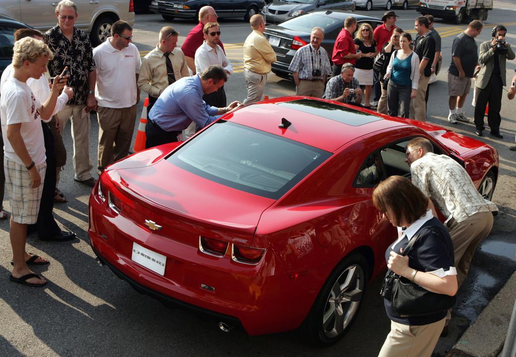 Foto de 2010 Chevrolet Camaro (29/56)