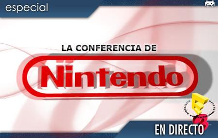 E3 2008: conferencia de Nintendo en directo