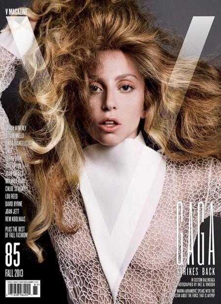 V Magazine 85 Fall 2013 Lady Gaga by Inez and Vinoodh
