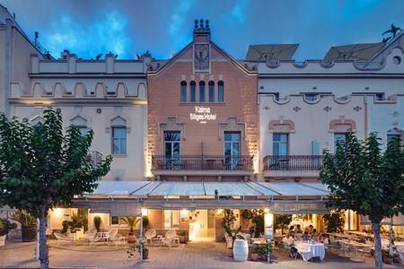 Kalma Sitges Hotel renueva la imagen de sus zonas comunes con interiorismo inspirado en el mar