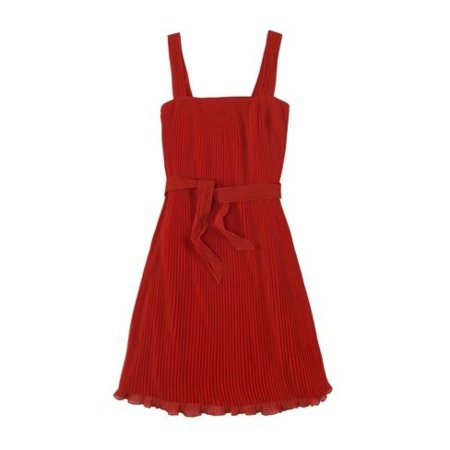 Zara Primavera-Verano 2011 vestido rojo