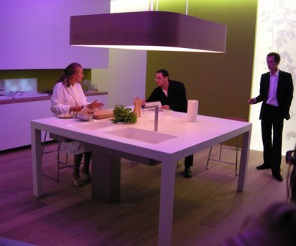 La cocina verde de Philips