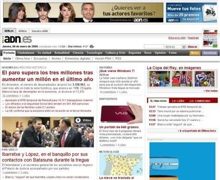 ADN.es cierra y se confirma la crisis de los medios