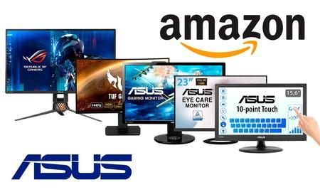 ¿Juegas o trabajas? Monitores ASUS en oferta en Amazon desde 113 euros