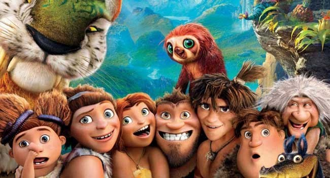 Los Croods poster