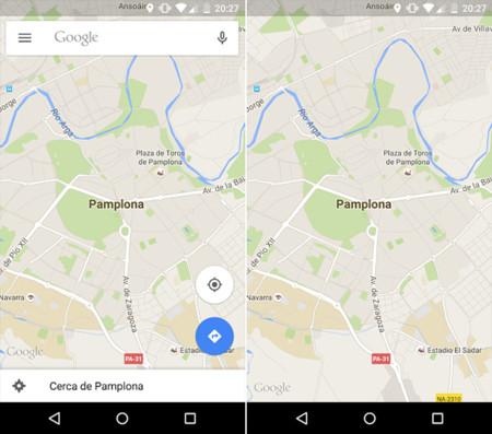 Google Maps 9.11 para Android: ocultar los elementos de la intefaz, compartir Mis Mapas y más