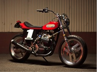 Lineaweaver Flat Tracker, moto con estilo e historia