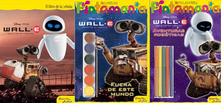 Wall-E, el robot de película llega a los libros