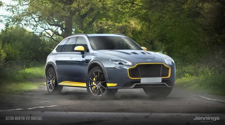 Suv Aston V12 Vantage