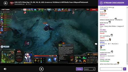 Game streams, un cliente no oficial de Twitch.tv para Windows 8.1. La aplicación de la semana