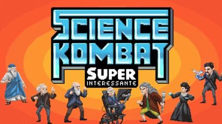 Las mentes más brillantes miden sus fuerzas en Science Kombat y lo puedes jugar en tu navegador