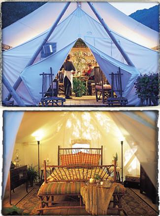 Glamping, campamentos de lujo