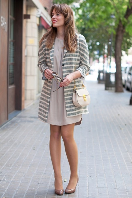 3b Stripes Coat Street Style Outfits Macarena Gea Zpsgk8wyvck