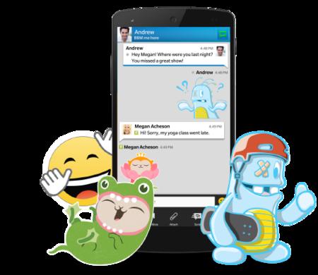 BBM se actualiza con mejoras y nuevo emoticonos