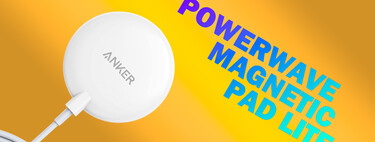 El cargador MagSafe Anker PowerWave Magnetic Pad Lite está de oferta a su precio mínimo histórico en Amazon de 15,99 euros