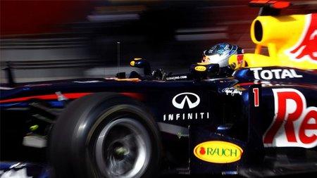 Red Bull Racing y Sebastian Vettel asustan en el segundo día de tests en Montmeló
