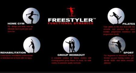 Freestyler, una revolución para ejercitarse