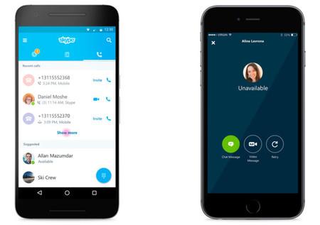 Skype se actualiza mejorando las llamadas y los correos de vox