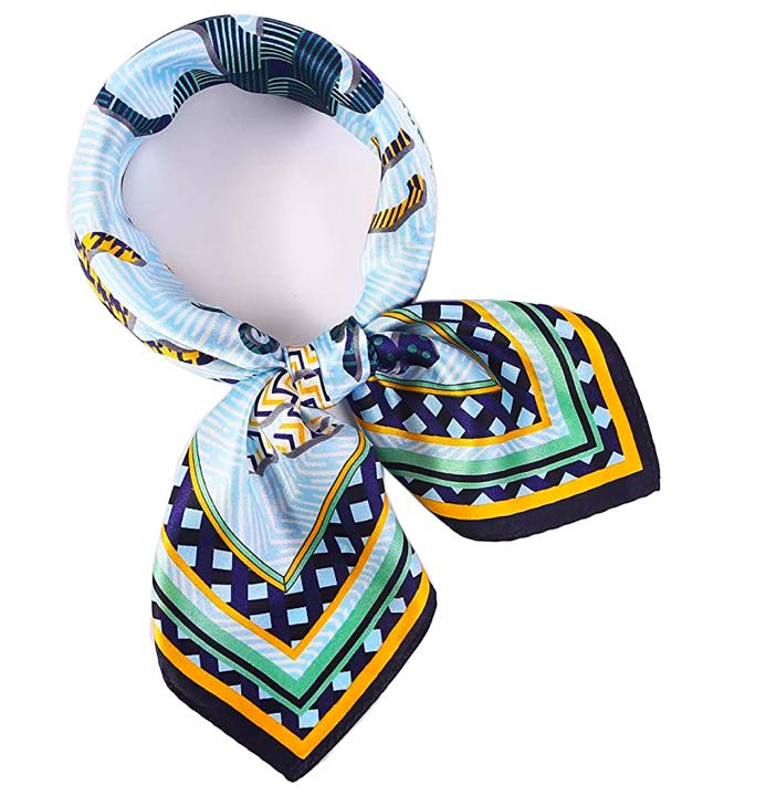 Fular estampado de seda de Laprée