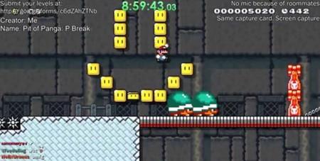 Uno de los niveles más difíciles de Super Mario Maker es superado y sí, fue por un japonés