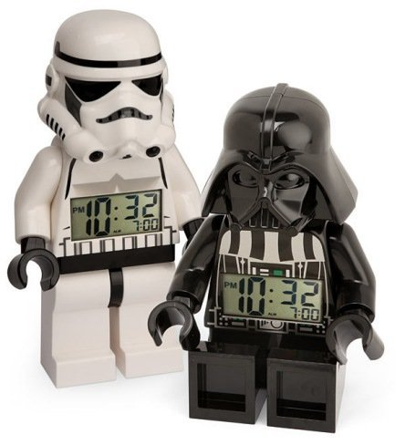 Lego y Star Wars tienen su reloj despertador