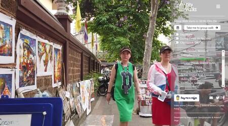 Pasear por una ciudad desde el sofá de tu casa: City Walks o el sueño del turismo vicario
