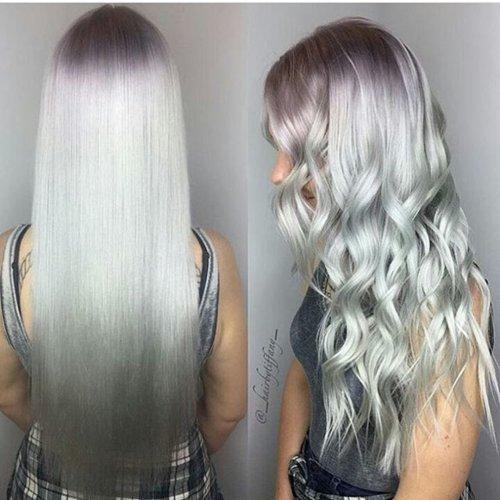 el cabello gris vuelve a ser tendencia para este oto o te apuntas. Black Bedroom Furniture Sets. Home Design Ideas
