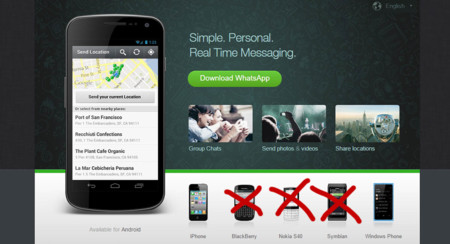 WhatsApp hace limpieza: para fin de año sólo estará en Android, iOS y Windows Phone