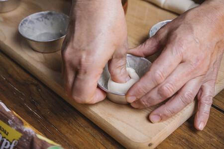 masa en molde