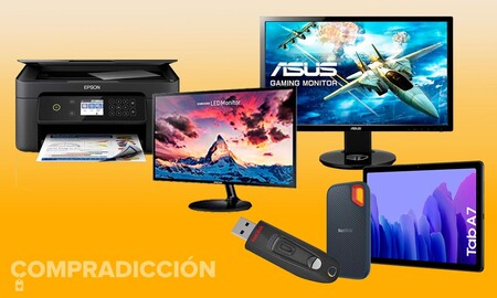 Acierta seguro: estos son los monitores, tabletas, impresoras o dispositivos de almacenamiento más vendidos del momento en Amazon