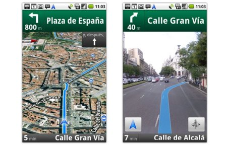 Google Maps Navigation en España: un navegador GPS y búsquedas por voz en tu teléfono Android